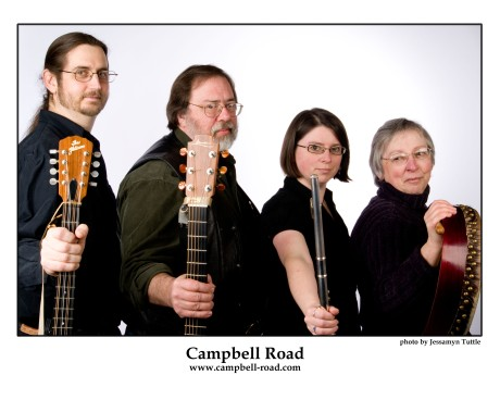 Campbell Road band publicity
