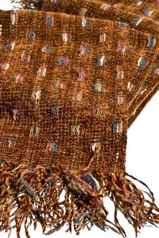Jessamyn Tuttle handwoven scarf